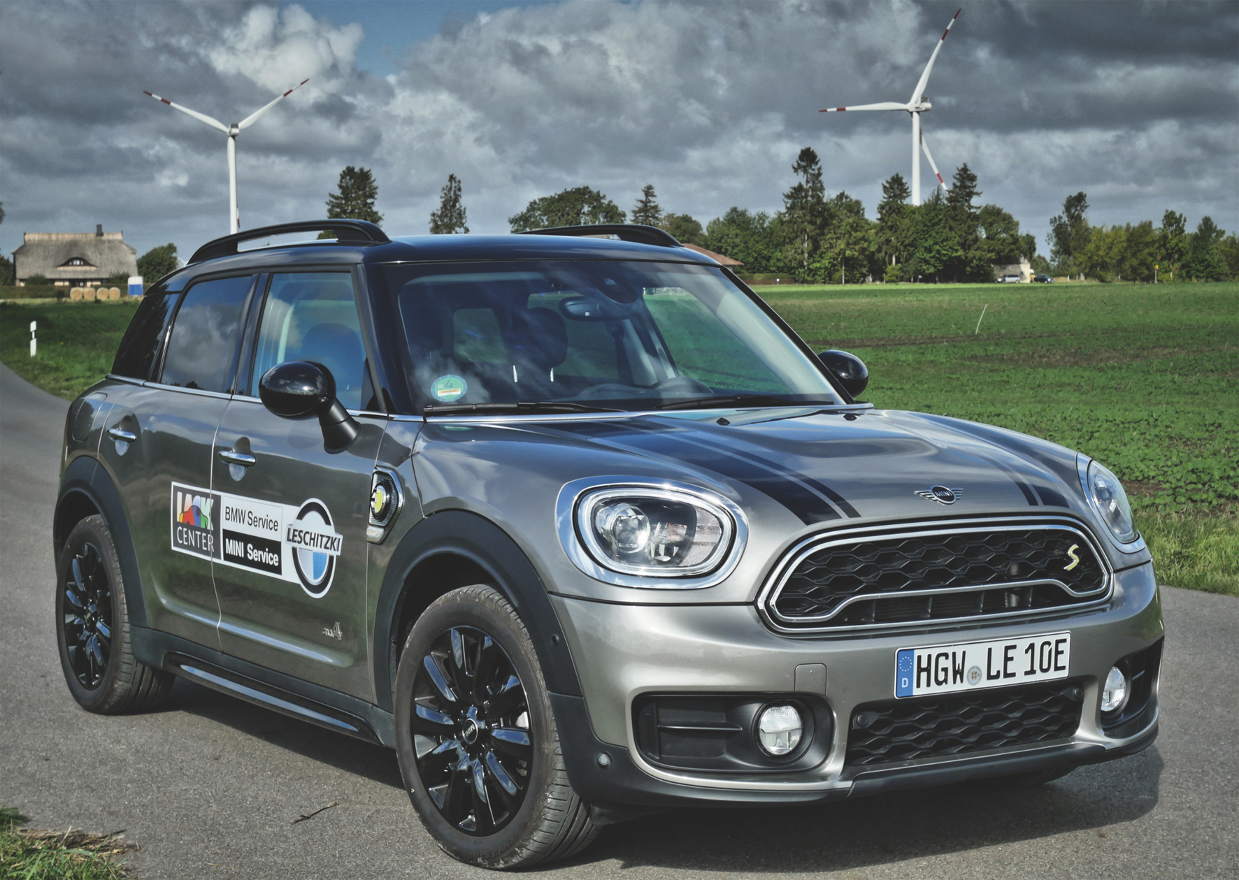 Der Saubermann MINI Cooper SE Countryman ALL4